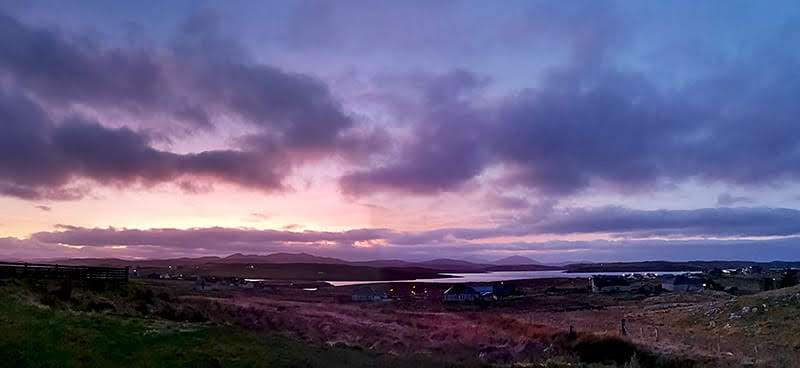 Hebridean Holiday Cabins View